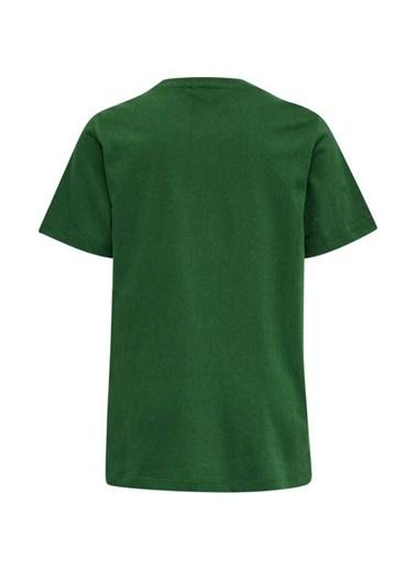 Hummel Tres Kısa Kollu Tışört Yeşil